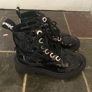 Zara Mickey Mouse Boots | Sz. 10/Eur 27